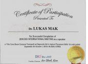 Certificate DIO Implan- drg Lukas