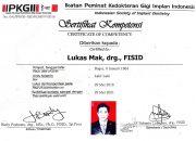 Certificate IPKGII - drg Lukas