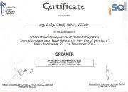 Certificate ISID - drg Lukas