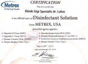 Certificate Metrex - drg Lukas