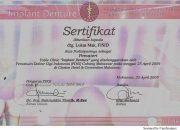 Certificate PDGI - drg Lukas