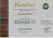 Certificate USU - drg Lukas