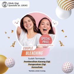 Special Price - Couple Bleaching