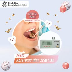 Special Price - paket Halitosis Incl Scalling